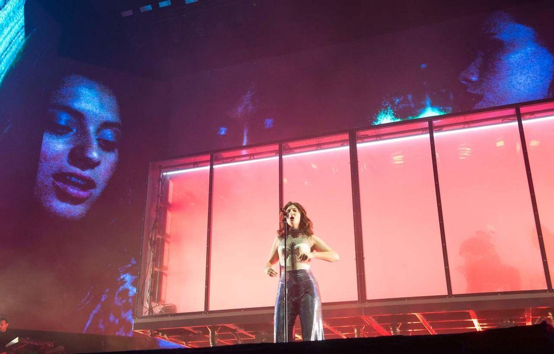 Lorde sang am Sonntagabend.