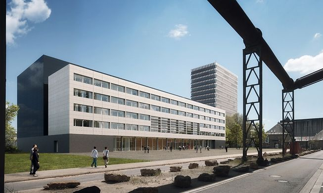 Wood will also be used in the construction of the  future national archives in Belval