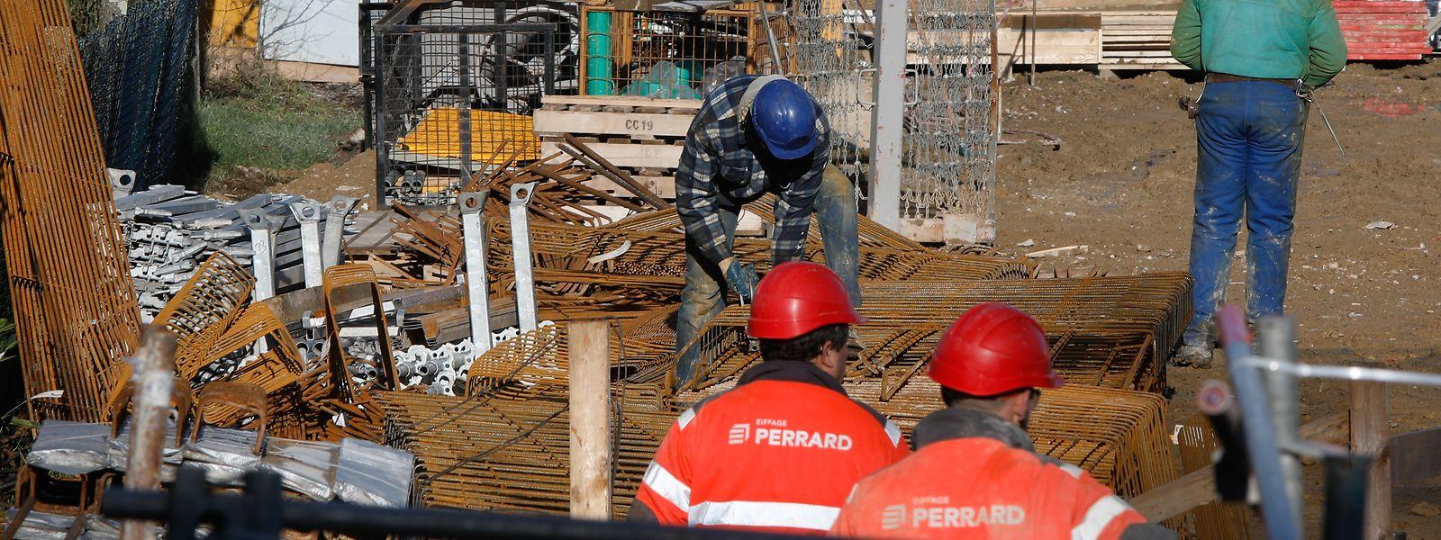 Le secteur de la construction résiste plutôt bien à la crise sanitaire avec une progression de 0,2% de l'emploi lors du deuxième trimestre de 2020