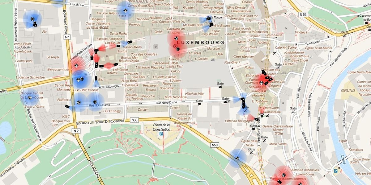 133 Kameras hat der Chaos Computer Club in der Hauptstadt aufgelistet.
