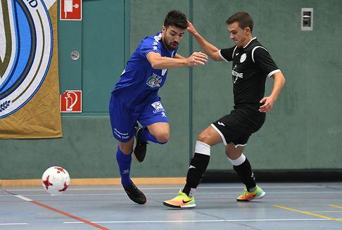 Futsal: le Racing, Differdange 03 et Clervaux se détachent