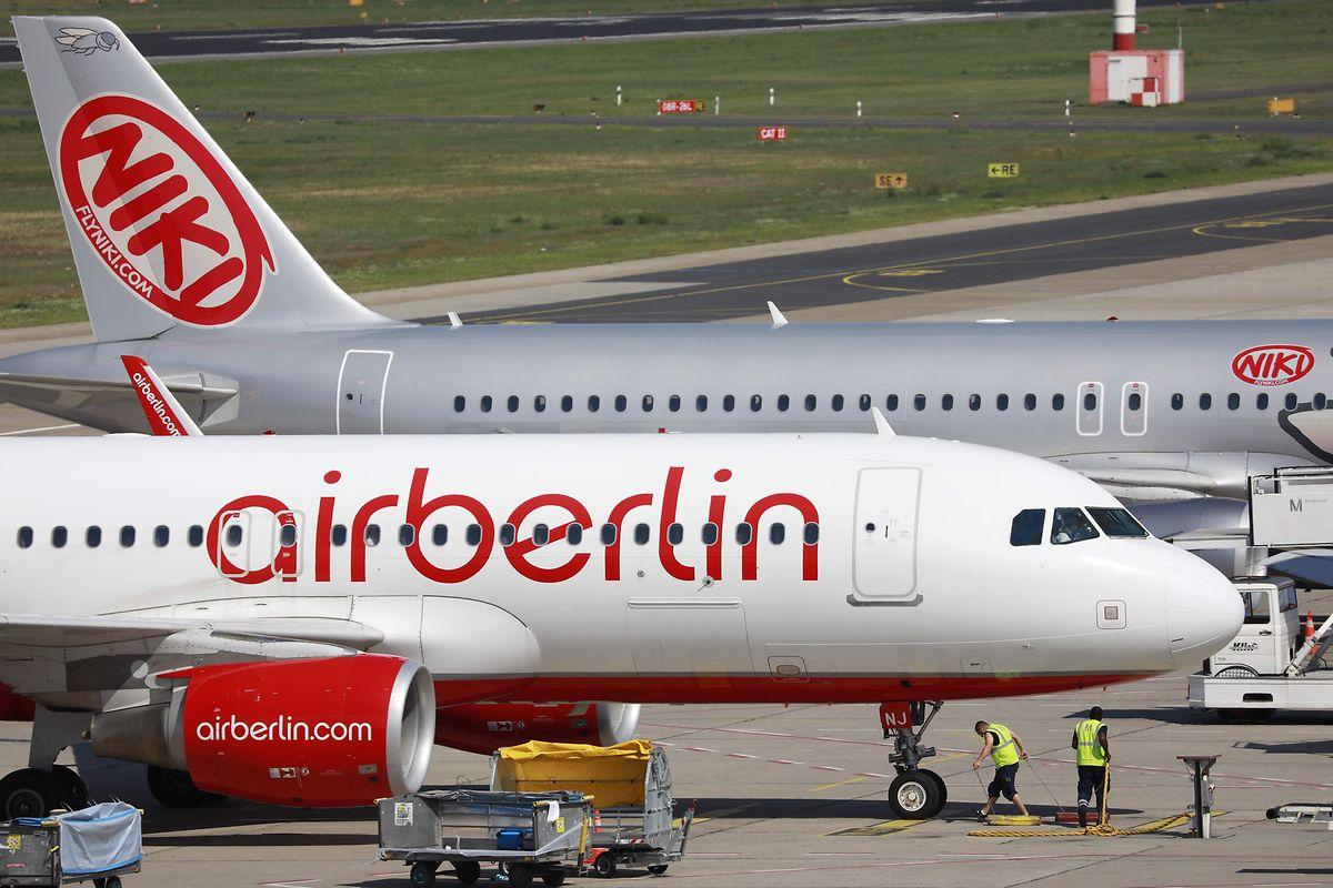 Die Fluggesellschaft Air Berlin hatte 2017 einen Insolvenzantrag gestellt.