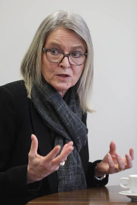 Véronique Eischen est une des figures de l'OGBL-secteur financier.