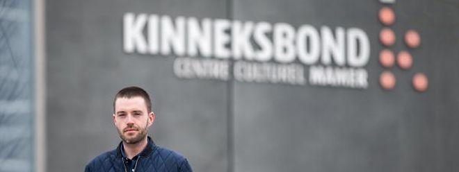 Jérôme Konen, nouveau directeur du Kinneksbond à Mamer.