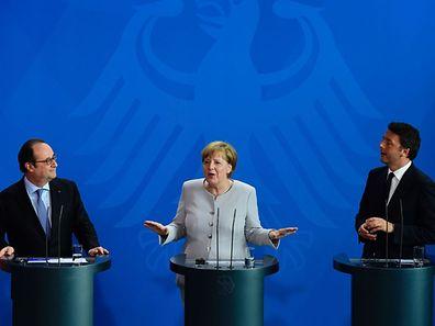 Angela Merkel: «Il n'y aura pas de discussions formelles ou informelles sur la sortie de la Grande-Bretagne de l'UE tant qu'il n'y aura pas de demande de sortie de l'UE au niveau du Conseil européen».
