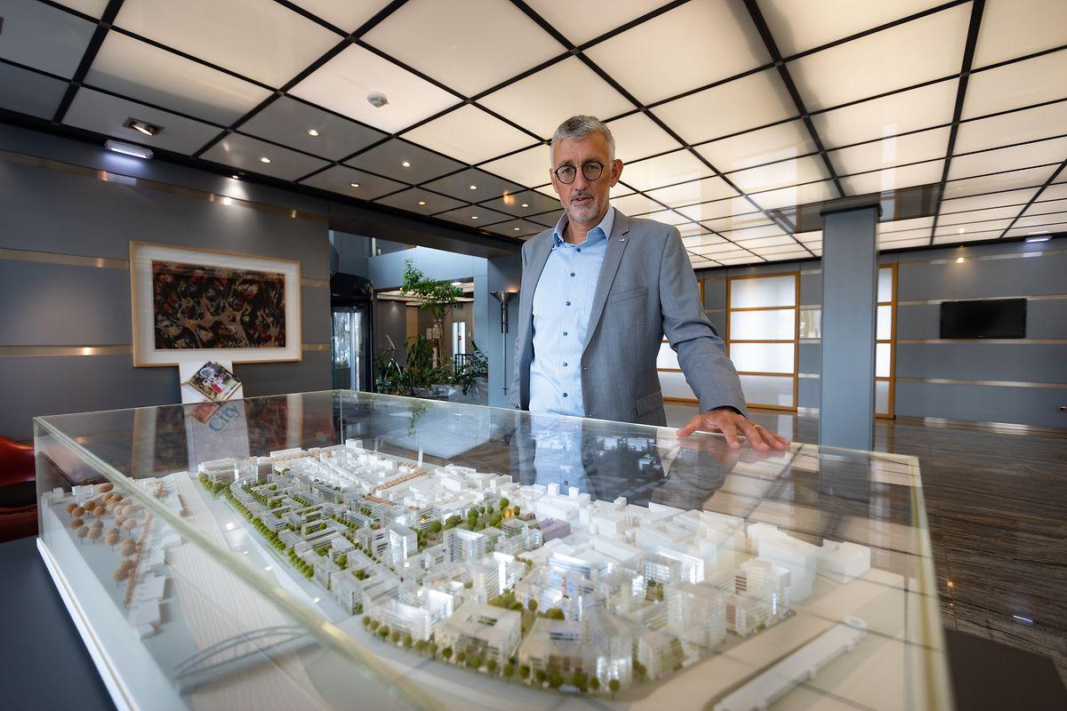 Georges Rassel, PDG de Paul Wurth, a fait toute sa carrière dans l'entreprise.