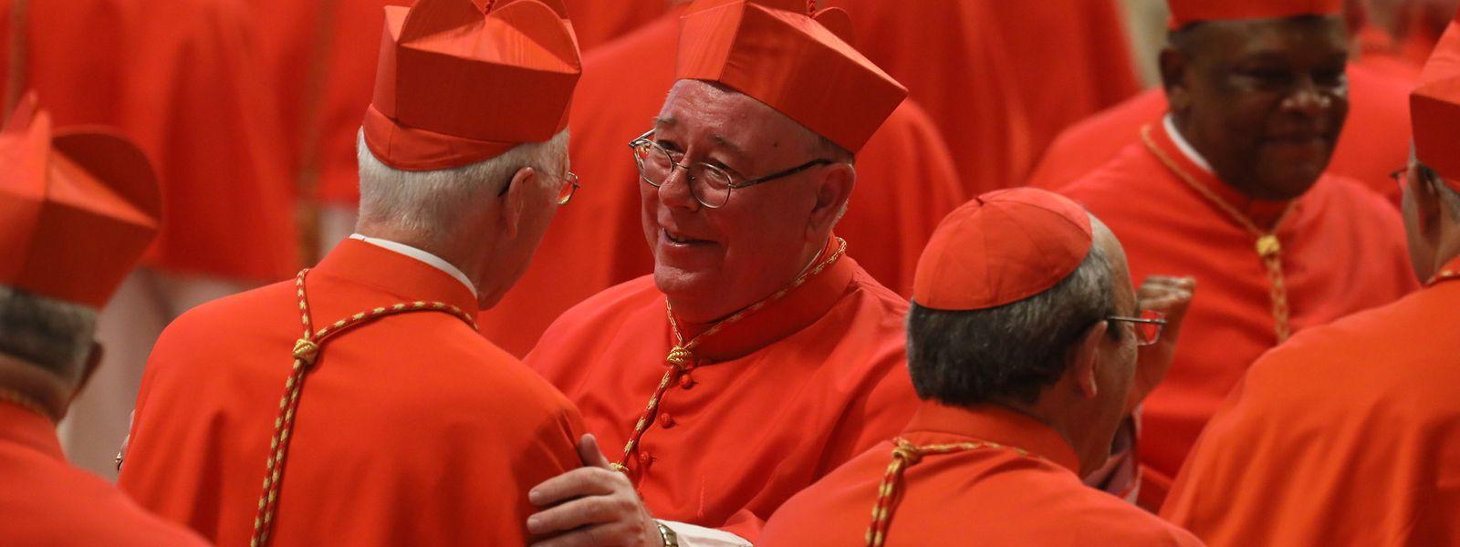 Kardinal Jean-Claude Hollerich am Samstag im Petersdom.