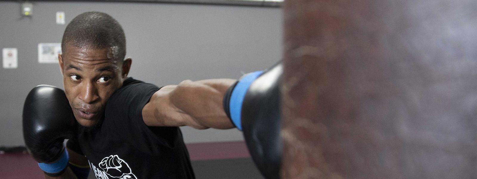 Micau Tavares continua a treinar com grande intensidade à espera de novos combates.