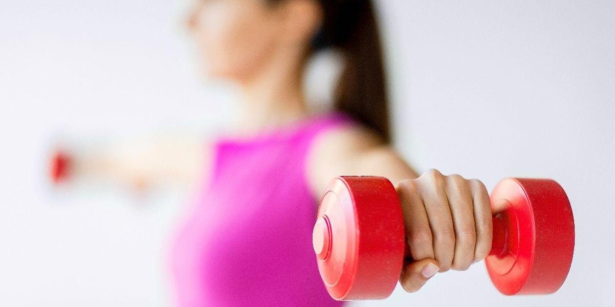 Wenn sich mit den Trainingsgeräten Töne erzeugen lassen, ragiert der Körper schneller.