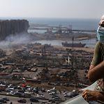 Beirute. Presidente libanês não descarta bomba ou míssil na origem da explosão