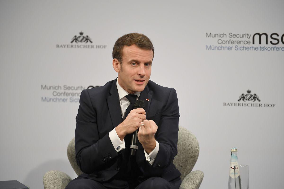 Frankreichs Präsident Emmanuel Macron ist nicht frustriert, aber ungeduldig.