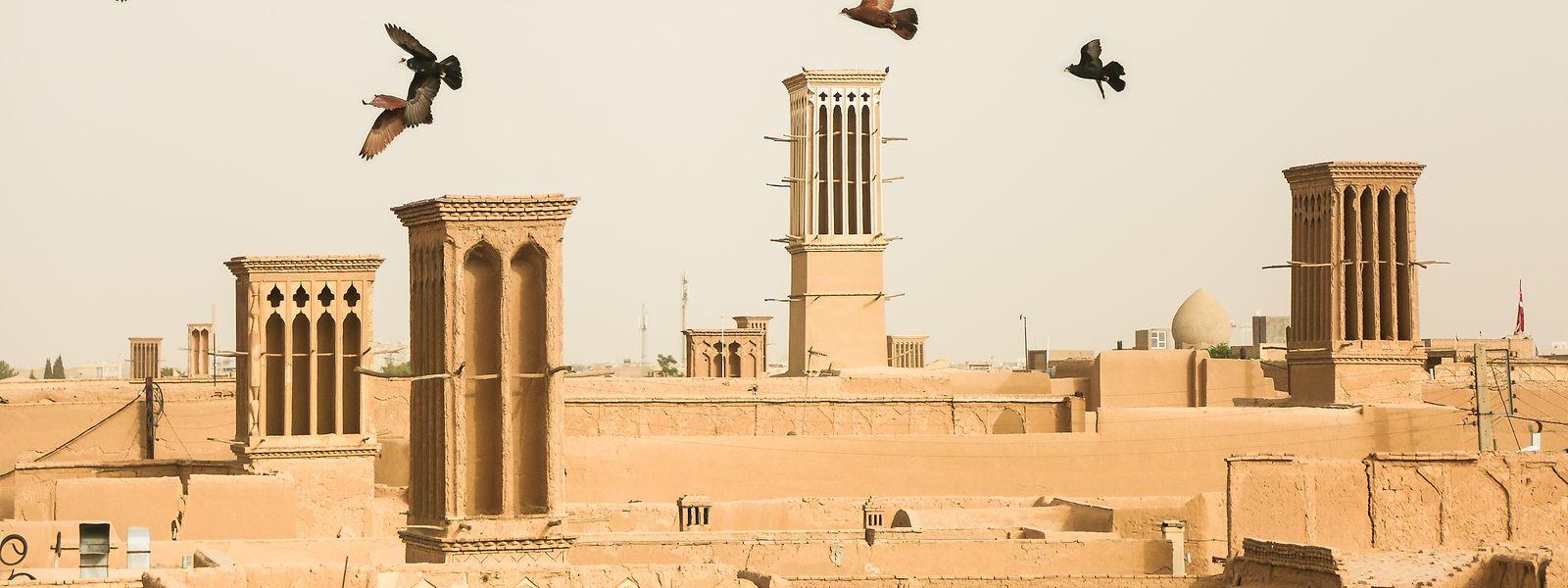 Die iranische Stadt Yazd ist ein beliebtes Touristenziel.