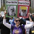 Zehntausende Wissenschaftler protestierten im April in Chicago gegen die neue, faktenfeindliche Grundstimmung.