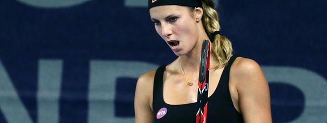 Mandy Minella leistete sich in der Qualifikation keinen Satzverlust.