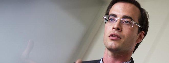 """Laurent Heisten ist als Ex-DP-Politiker eines der Gründungsmitglieder von """"Déi Liberal""""."""