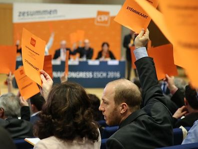 Der Parteitag der CSV am Samstag in Ettelbrück steht ganz im Zeichen der Kommunal- und Nationalwahlen.