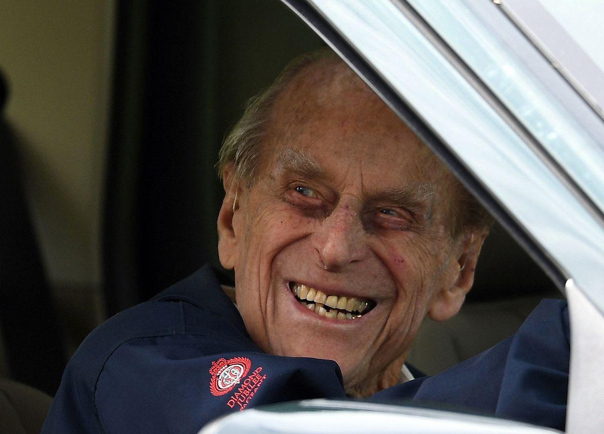 Prinz Philip war dem Unfall ohne Verletzungen entkommen.