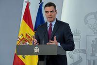 O primeiro Ministro espanhol, Pedro Sanchez.