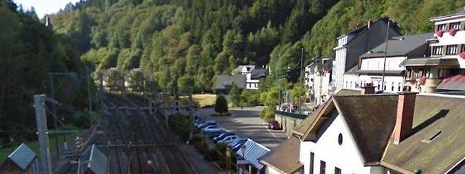A estação de Clervaux.