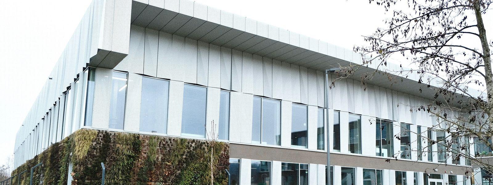 Die funkelnagelneue Sporthalle auf dem Kannercampus gehört zu den Anlagen, die im kommenden Monat Januar definitiv in Betrieb genommen werden.