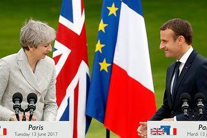 May und Macron: Rivalen und Partner