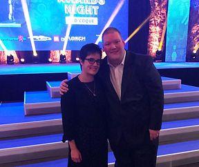 RTL Awards-Night mit Sportkegeler Weltmeister Duo Mandy Parracho & Gilles Mores