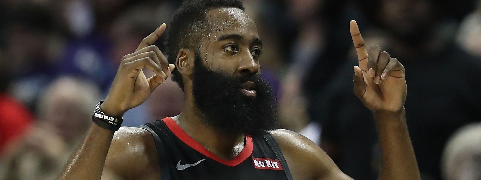 James Harden a inscrit 58 points pour les Houston Rockets contre Miami Heat