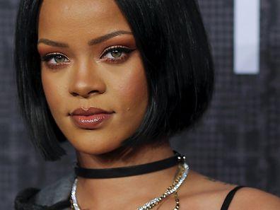 """Rihanna stellte ihre Kollektion für Puma unter dem Namen """"Fenty"""" vor - ihrem Nachnamen."""