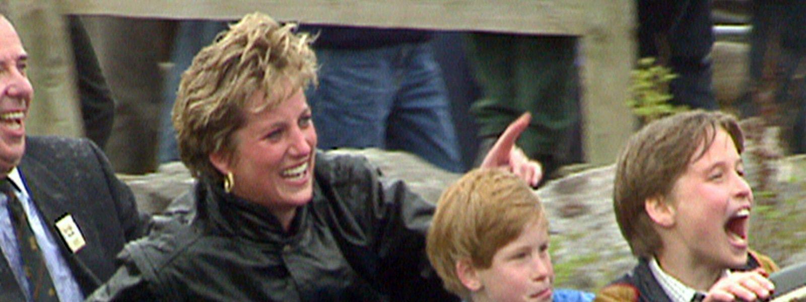 Für William und Harry war Diana die beste Mutter der Welt.