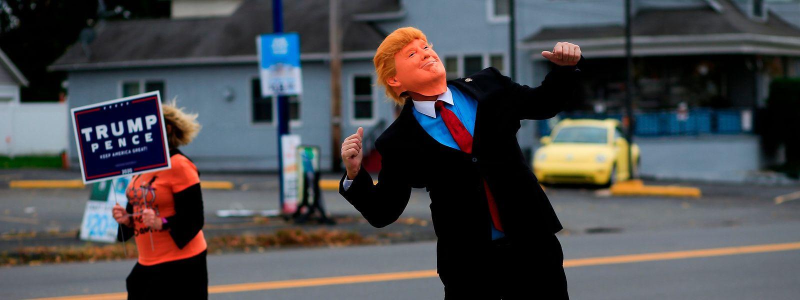 Am 3. November wird in den USA ein neuer Präsident gewählt. Eine Woche vorher intensivieren die Kandidaten ihren Wahlkampf.