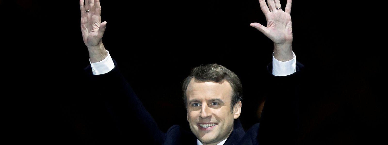 Ob Emmanuel Macron auch nach den Parlamentswahlen jubeln darf?