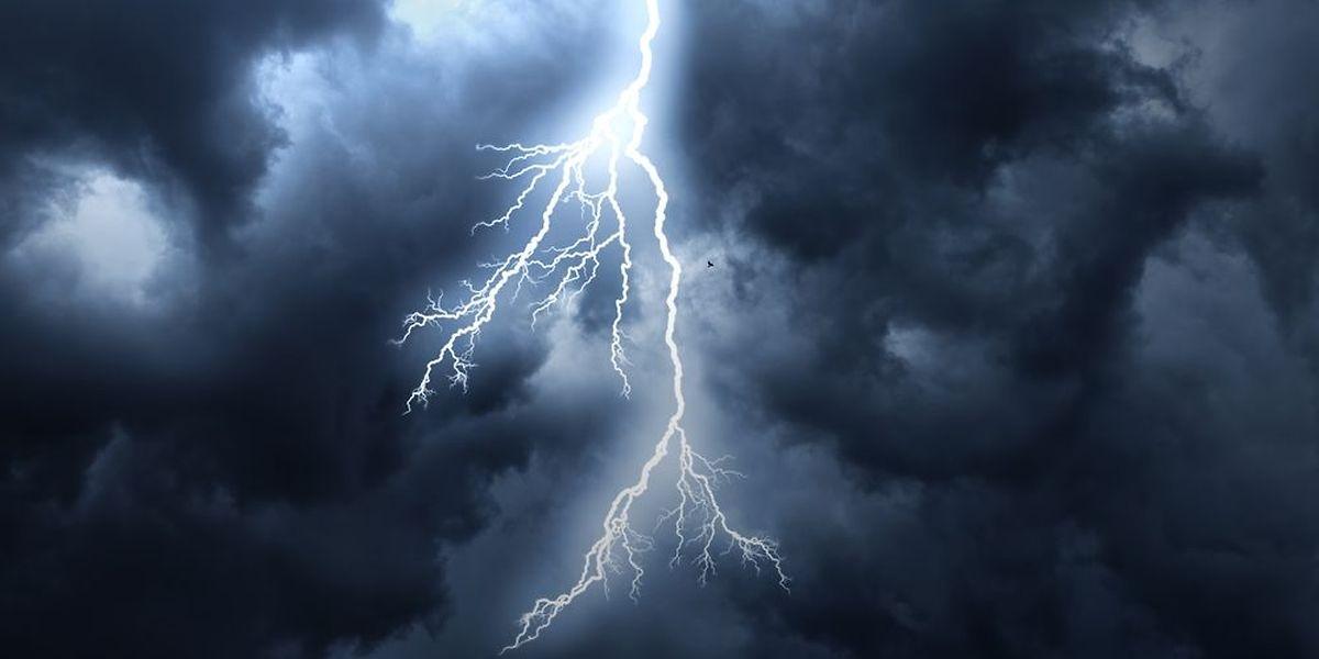 Alerte aux orages sur tout le pays luxembourgeois