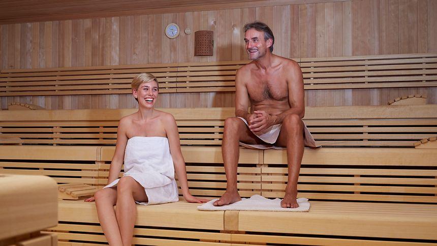 Saunieren ist gesund - allerdings nur mit anschließender Abkühlung.