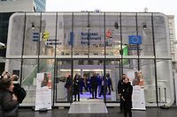 EFSI Project Fair in Brussels on 26 and 27 october 2018, organised by the EIB Group / Foto: Mara BILO