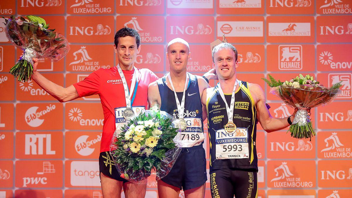 Christophe Kass, Justin Mahieu und Yannick Lieners