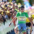 Peter Sagan (SVK/Tinkoff) sichert sich den Etappensieg vor Chris Froome (GB/Sky) - Tour de France 2016 –  11. Etappe Carcassonne / Montpellier – Foto: Serge Waldbillig