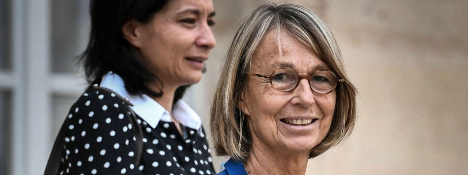 Auch die französische Kulturministerin Françoise Nyssen (r.) unterzeichnete den Aufruf.