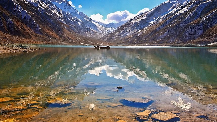 Saiful Malook lake in northern Pakistan