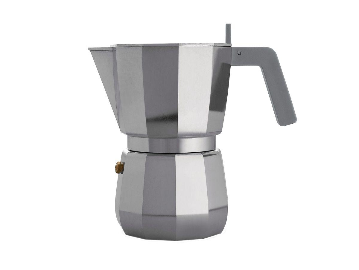 """Espressokocher """"Moka"""" von Alessi aus Aluminium, um 42 Euro."""