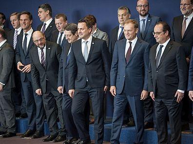 EU leaders European Union Heads of State Summit, Brussels, Belgium
