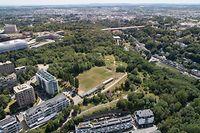 """Das Bauvorhaben auf dem Gelände Schoettermarial in Kirchberg/Weimerskirch ist eines von insgesamt 30 Großprojekten, bei denen die Bürger laut """"Eis Stad"""" mitentscheiden sollten."""