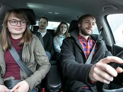 Car sharing will be available from train stations