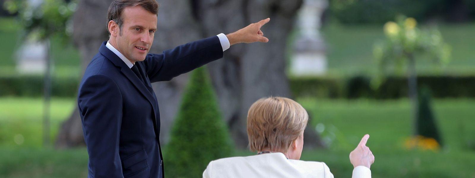 Hohe Erwartungen im Vorfeld der Ratspräsidentschaft: Gemeinsam mit Emmanuel Macron soll Angela Merkel den stotternden EU-Motor wieder zum Laufen bringen und die Richtung vorgeben.