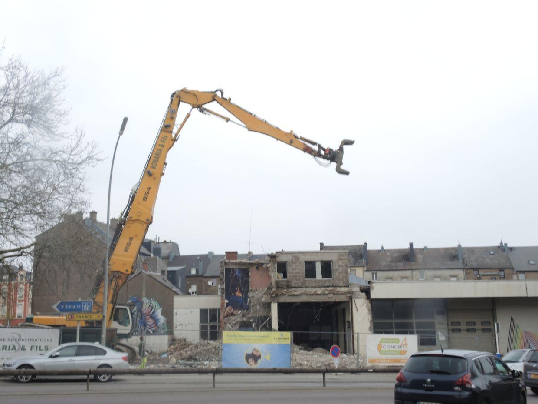 Abriss Garage Losch Esch