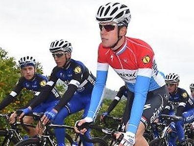 Bob Jungels a conservé sa douzième place au général alors que son coéquipier Stijn Vandenbergh a remporté la dernière étape au sprint.