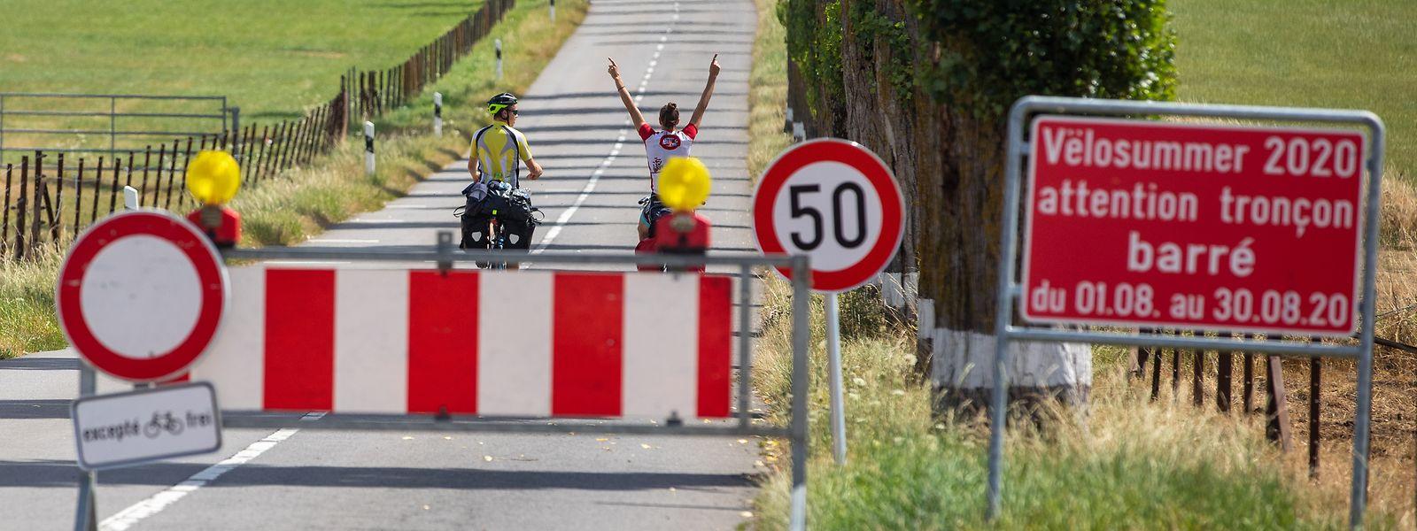 Die Strecke zwischen Alzingen und Syren ist auch in diesem Jahr für den Verkehr gesperrt.