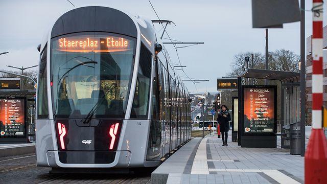 Lokales, Erster Tag der gratis öffentlichen Transporte, Luxemburg-Pfaffenthal-Kirchberg, Foto: Lex Kleren/Luxemburger Wort
