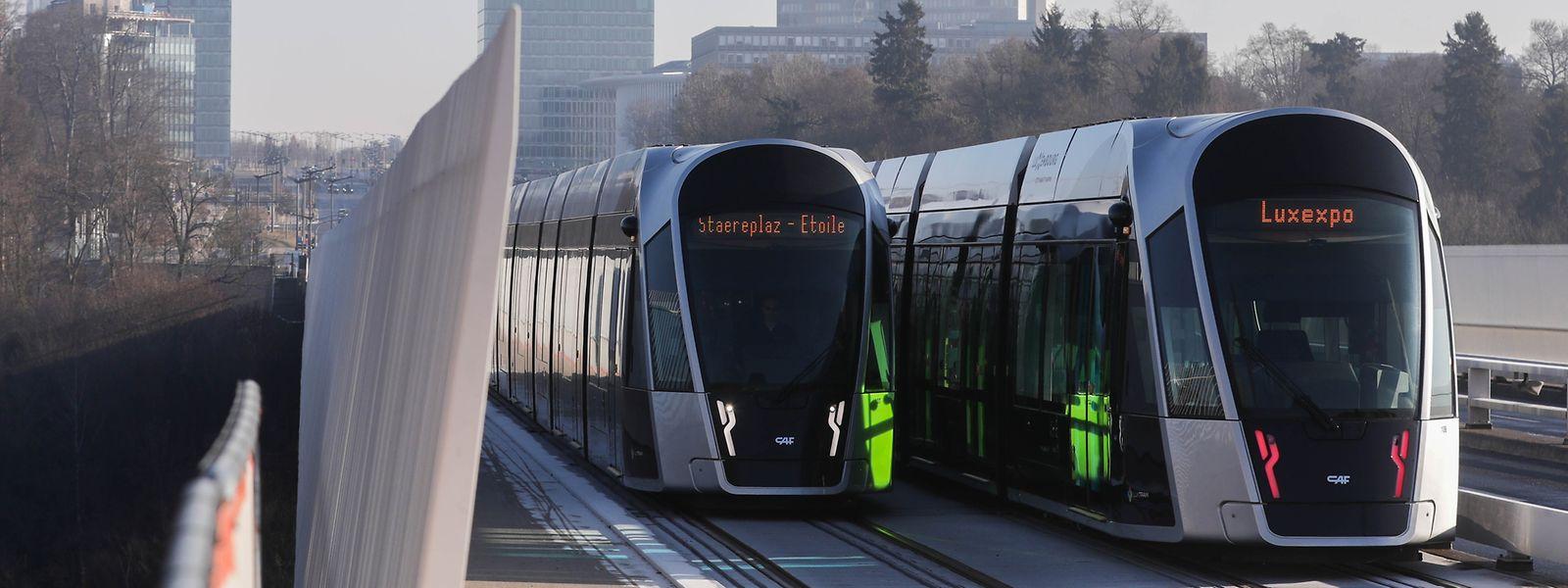 In den kommenden Jahren wird die Tramstrecke bis zum Flughafen erweitert.