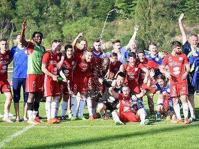 Erleichterung pur: Grevenmacher spielt auch kommende Saison in der Ehrenpromotion.