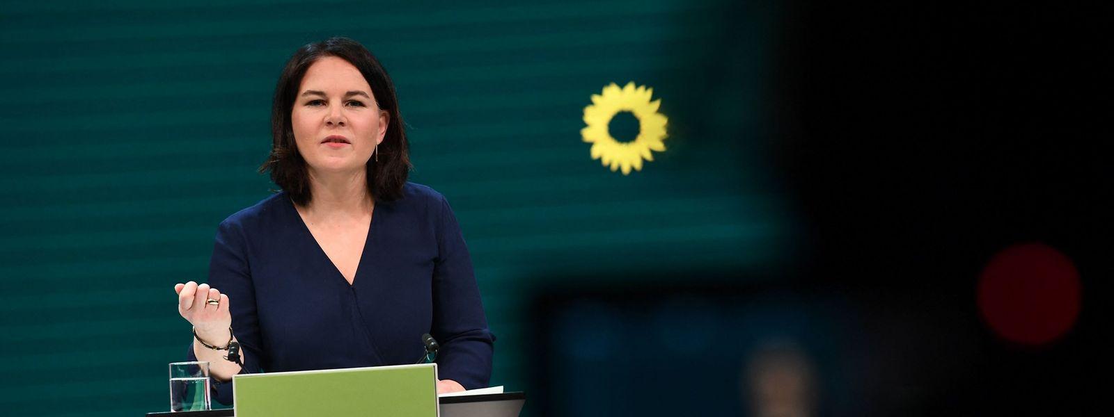 Die grüne Co-Vorsitzende Annalena Baerbock wird die Partei als erste Spitzenkandidatin in den Bundestagswahlkampf führen.
